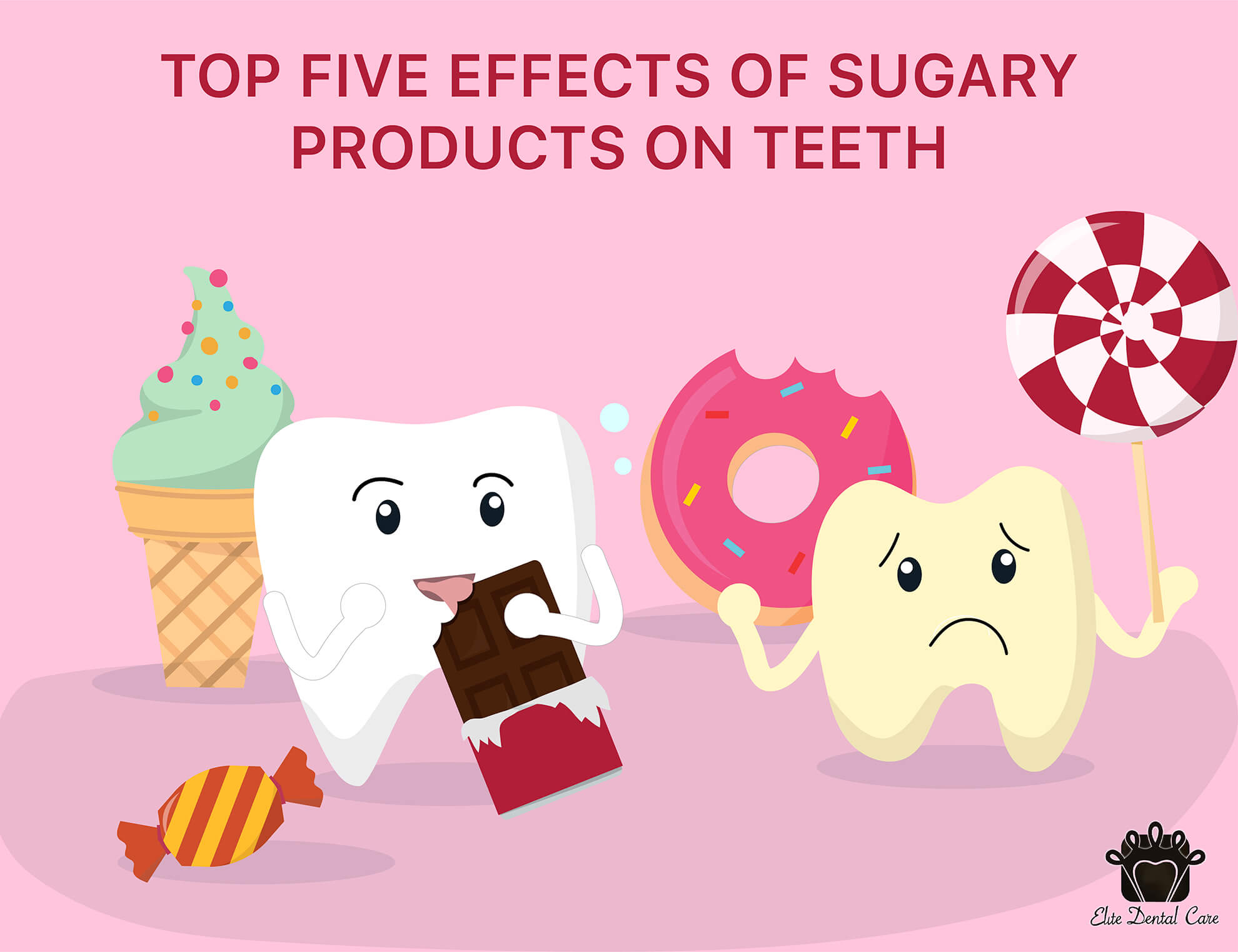 Effects of Sugary Products on Teeth