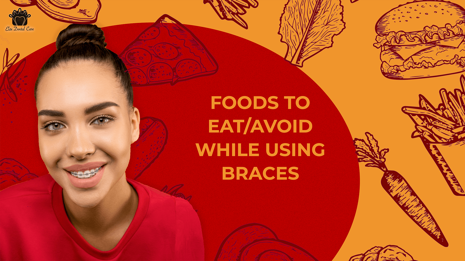 Foods to eat/avoid while using braces