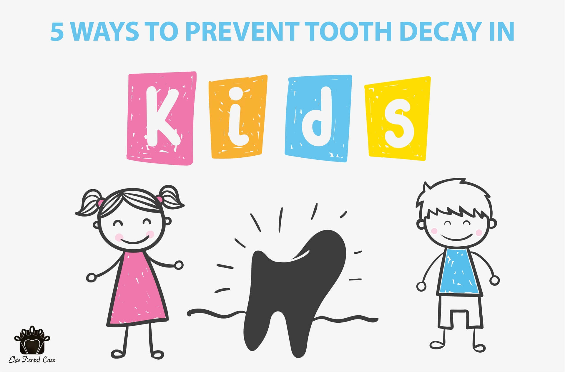 Top 5 ways to prevent Tooth decay in children