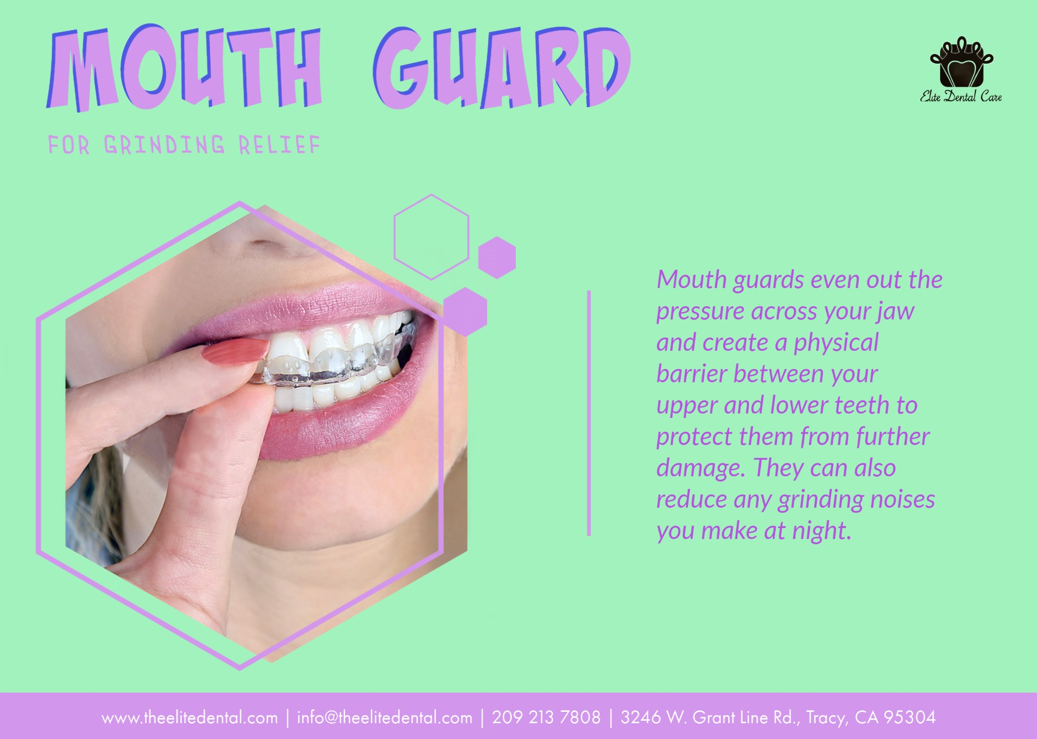 MOUTHGUARD FOR GRINDING RELIEF