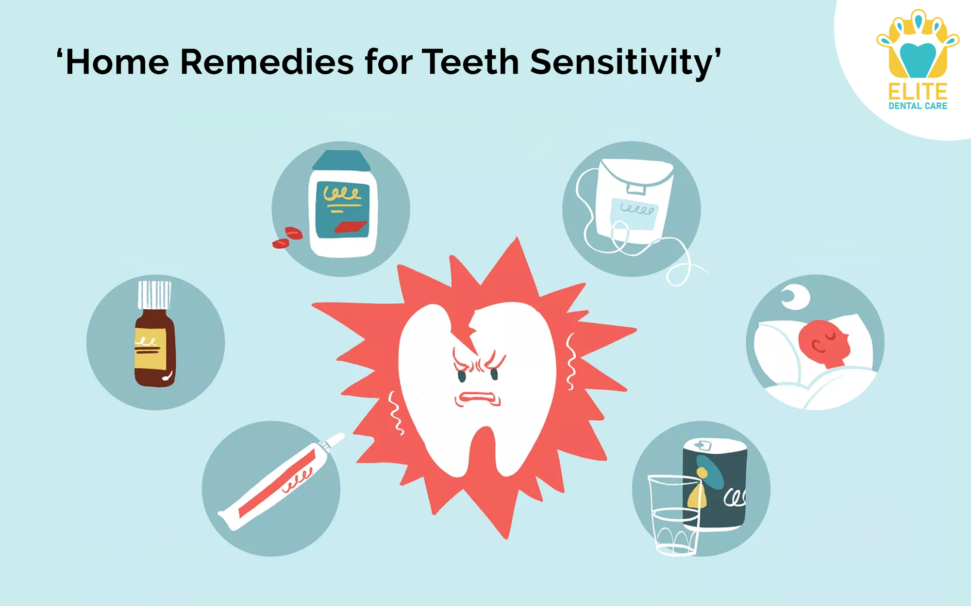HOME REMEDIES FOR TEETH SENSITIVITY - ELITE DENTAL CARE TRACY